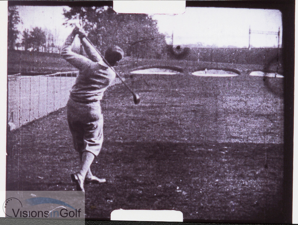 Bobby Jones swing sequence-7<br /> <br /> Picture Credit: &copy;Visions In Golf / Michael Hobbs / Mark Newcombe