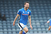 GOAL Bradden Inman celebrates fires Rochdale into a 1-0 lead  during the EFL Sky Bet League 1 match between Rochdale and Portsmouth at Spotland, Rochdale, England on 7 April 2018. Picture by Daniel Youngs.
