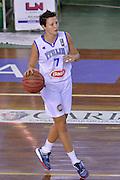 Giorgia Sottana<br /> Nazionale Italiana Femminile Senior - Rappresentativa Straniere<br /> LegA Basket Femminile 2016/2017<br /> Lucca, 04/10/2016<br /> Foto Ciamillo-Castoria