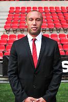 Mikael Silvestre - 15.09.2015 - Photo officielle Rennes - Ligue 1 2015/2016<br /> Photo : Philippe Le Brech / Icon Sport
