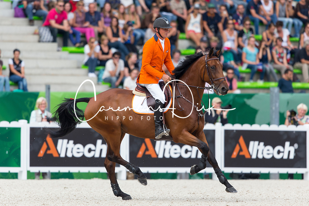 Jeroen Dubbeldam, (NED), Zenith SFN - World Champions, - Second Round Team Competition - Alltech FEI World Equestrian Games&trade; 2014 - Normandy, France.<br /> &copy; Hippo Foto Team - Leanjo De Koster<br /> 25/06/14