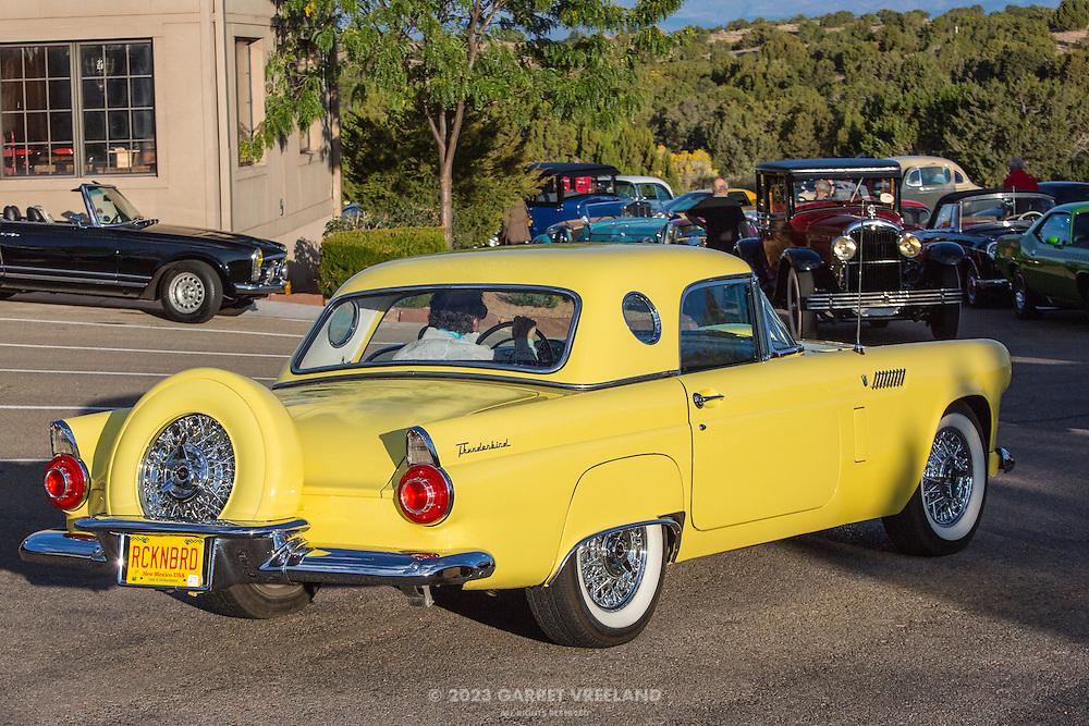 1956 Ford Thunderbird, 2012 Santa Fe Concorso High Mountain Tour.