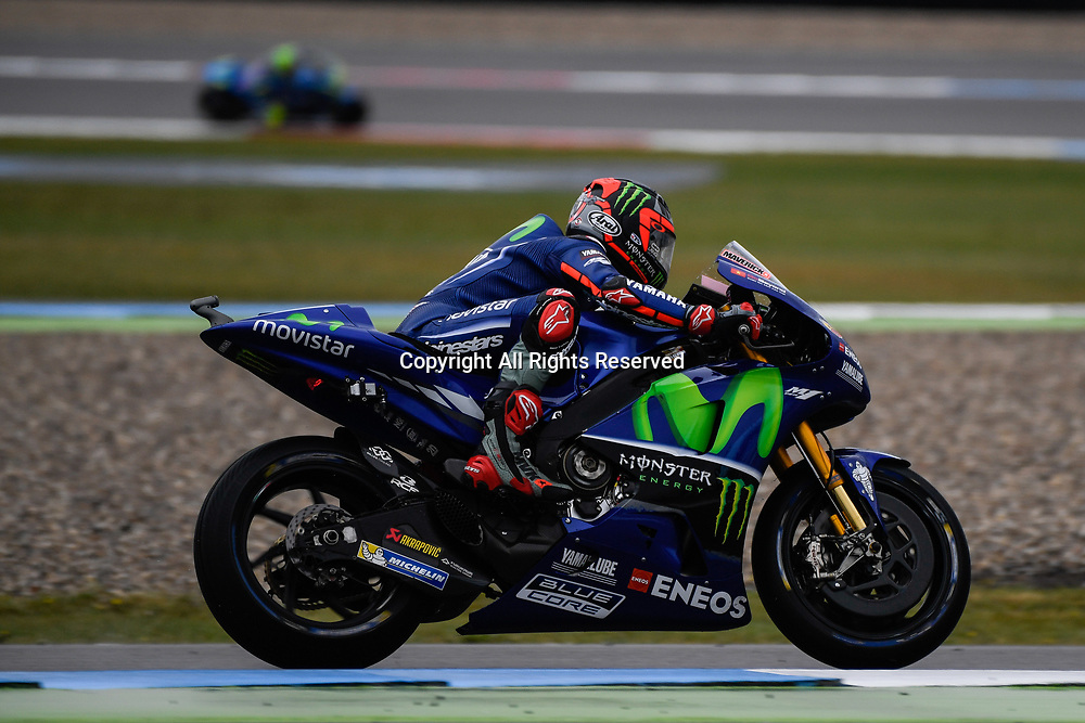 June 24th 2017, TT Circuit, Assen, Netherlands; MotoGP Grand Prix TT Assen, Qualifying Day; Maverick Vinales (Movistar Yamaha) during the qualifying sessions