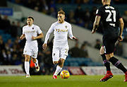 Samu Sáiz of Leeds United  during the EFL Sky Bet Championship match between Leeds United and Aston Villa at Elland Road, Leeds, England on 1 December 2017. Photo by Paul Thompson.
