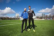 UTRECHT - Robbin Ruiter voor voetbalblad Goal, seizoen 2012-2013, 14-3-2013, Zoudenbalch trainingscomplex FC Utrecht, EXCLUSIEF VOOR GOAL - niet gebruiken voor 24 april 2013