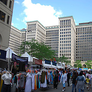 Thursday afternoon and evening at Comerica Cityfest. Comerica Cityfest 2008, formerly known as Comerica Tastefest, is in its 20th year of transforming Detroit's Historic New Center into the city's biggest and best summer festival.