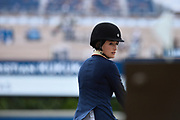Jessica Springsteen riding RMF Zecilie during the Longines Paris Eiffel Jumping 2018, on July 5th to 7th, 2018 at the Champ de Mars in Paris, France - Photo Christophe Bricot / ProSportsImages / DPPI