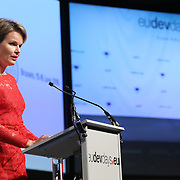20160616 - Brussels , Belgium - 2016 June 16th - European Development Days - Special address from Her Majesty Mathilde the Queen of Belgians - HM Mathilde, the Queen of Belgians © European Union