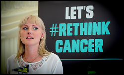 Image ©Licensed to i-Images Picture Agency. 25/06/2014. London, United Kingdom. Kris Hallenga-RethinkCancer Manifesto. Picture by Andrew Parsons / i-Images