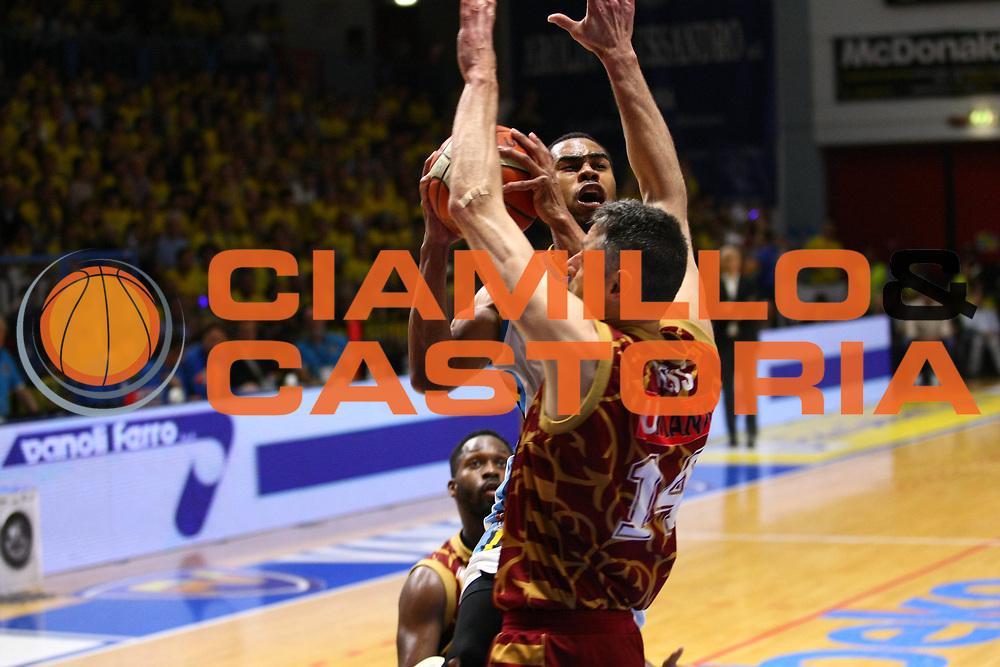 Cremona 08 Maggio  2016<br /> Basket Serie A<br /> Vanoli Cremona- Umana Reyer Venezia Playoff Gara 1<br /> Nella foto: Markel Starks<br /> foto F.Zovadelli/Ciamillo