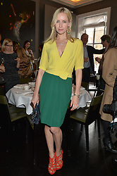 NADYA ABELA at the mothers2mothers Mother's Day Tea hosted by Nadya Abela at Morton's, Berkeley Square, London on 12th March 2015.  mothers2mothers is a charity working to eliminate mother to child transmission of HIV/AIDS across sub-Saharan Africa.