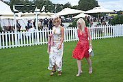 DR. MARYAM ASHRAFI; PAULINE STONE, Cartier International Polo Day at the Guards Polo Club. Windsor. July 26  2009