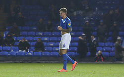 A dejected Frankie Kent of Peterborough United after missing in the penalty shoot-out - Mandatory by-line: Joe Dent/JMP - 04/12/2019 - FOOTBALL - Weston Homes Stadium - Peterborough, England - Peterborough United v Ipswich Town - Leasing.com Trophy