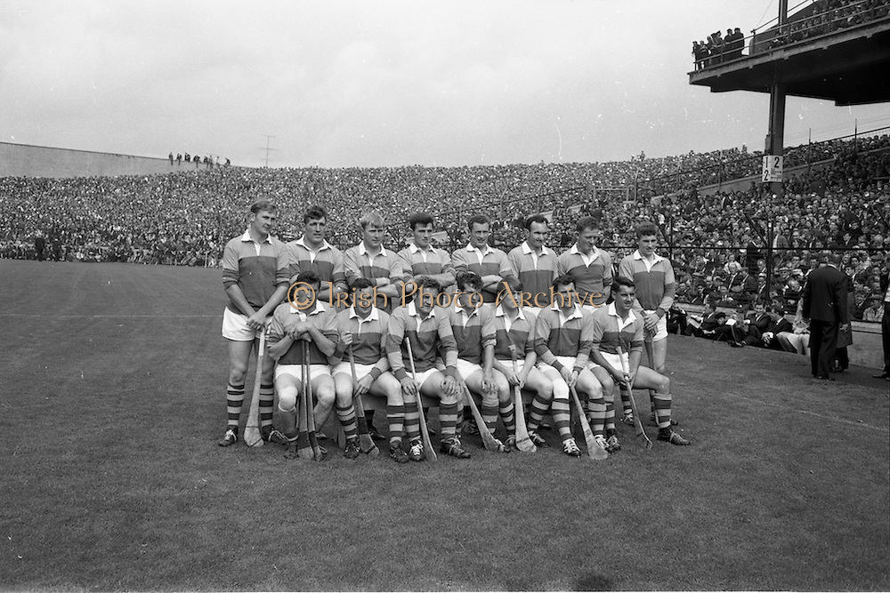 01/09/1968<br /> 09/01/1968<br /> 1 September 1968<br /> All-Ireland Senior Hurling Final: Tipperary v Wexford at Croke Park, Dublin. <br /> The winning Wexford team.