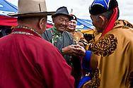 Mongolia. traditional wrestling. during the naadam festival in  Khurjit /  lutte traditonnelle mongole . naadam festival in   Khurjit - Mongolie