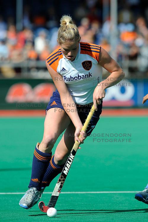 25-06-2008 HOCKEY: NEDERLAND - INDIA: ROTTERDAM<br /> Four Nations Tournament - Nederland wint met 4-1 van India / Miek van Geenhuizen<br /> &copy;2008-WWW.FOTOHOOGENDOORN.NL