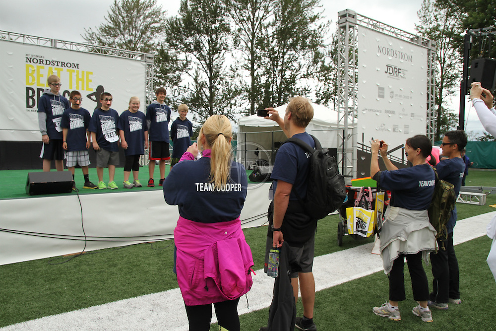 31st Annual Nordstrom Beat the Bridge, benefitting JDRF - team portraits.