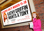 Kathy Griffin on Bway