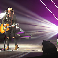 Jordan Feliz leads off the 2018 Winter Jam concert Thursday night at the BancorpSouth Arena in Tupelo.