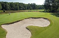 LEUSDEN - Hole 17 par 3.  Golfclub De Hoge Kleij. COPYRIGHT KOEN SUYK