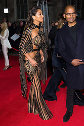 © Licensed to London News Pictures. 05/12/2016. NICOLE SCHERZINGER arrives for The Fashion Awards 2016 celebrating the best of British and international fashion. London, UK. Photo credit: Ray Tang/LNP