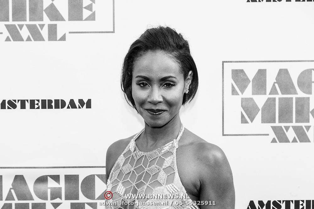 NLD/Amsterdam/20150701 - Filmpremiere Magic Mike XXL, Jade Pinkett Smith