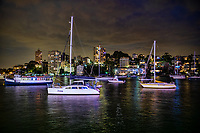 Sailboats on Lavender Bay, North Sydney