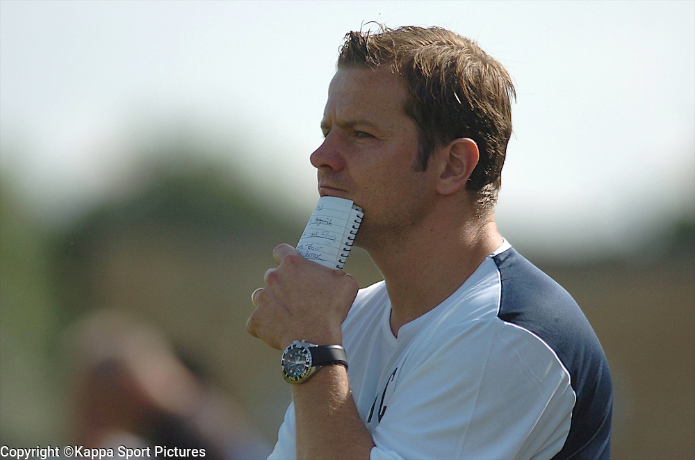 Mark Cooper Manager Kettering Town, Forest Green Rovers v Kettering Town, Conference, The New Lawn Stadium, Nailsworth, Saturday 8thAugust 2009,<br /> Score 1-2 (Marna 71,81,)