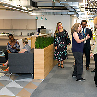 Arthritis Research UK;<br /> Sarah Newton, Minister of State, DWP;<br /> Kirby Street,  Farringdon, London;<br /> 25th July 2018.<br /> <br /> &copy; Pete Jones<br /> pete@pjproductions.co.uk