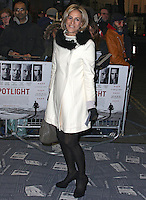 Emily Maitlis, Spotlight - UK Film Premiere, Curzon Mayfair, London UK, 20 January 2016, Photo by Brett D. Cove