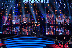18-12-2019 NED: Sports gala NOC * NSF 2019, Amsterdam<br /> The traditional NOC NSF Sports Gala takes place in the AFAS in Amsterdam / Mathieu van der Poel, Sportman van het Jaar 2019 was niet aanwezig maar de prijs werd overhandigt door Bibian Mentel