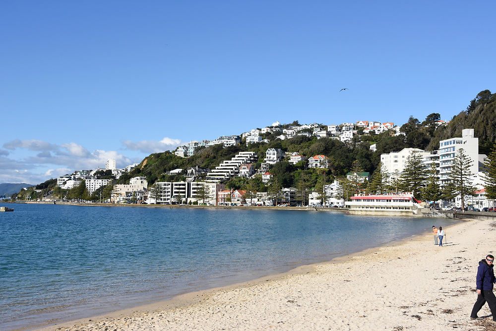 The beach at Wellington
