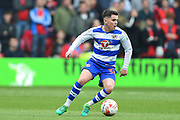Reading midfielder Liam Kelly (38) during the EFL Sky Bet Championship match between Nottingham Forest and Reading at the City Ground, Nottingham, England on 22 April 2017. Photo by Jon Hobley.