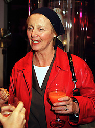 Editor of Harpers & Queen magazine FIONA MACPHERSON, at a party in London on 16th September 1999.MWK 11
