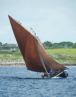 19/08/2012. Scene from Crinniu na mBad (The Gathering of the Boats) in Kinvara in Co. Galway. Photo:Andrew Downes.