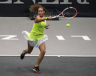 Daria Kasatkina (RUS) during the WTA Generali Ladies Open at TipsArena, Linz<br /> Picture by EXPA Pictures/Focus Images Ltd 07814482222<br /> 11/10/2016<br /> *** UK & IRELAND ONLY ***<br /> <br /> EXPA-REI-161011-5003.jpg