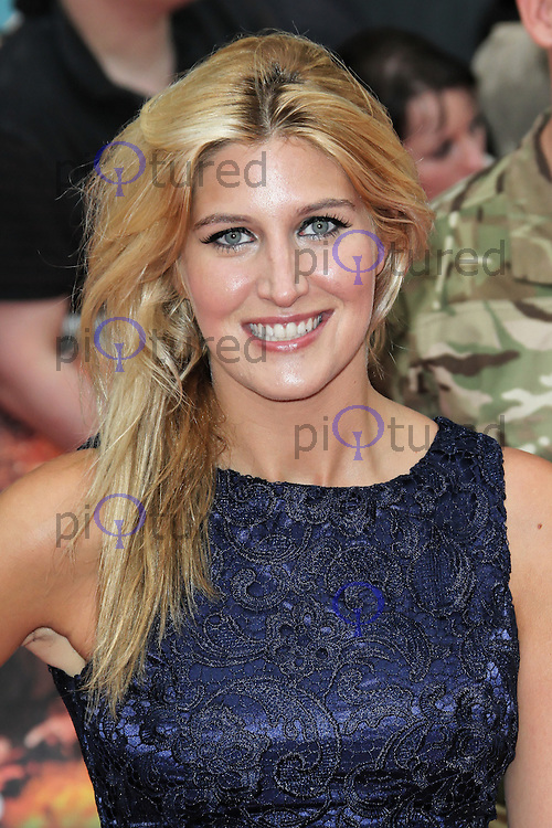LONDON - AUGUST 13: Francesca Hull attended the UK Film Premiere of 'The Expendables 2', Leicester Square, London, UK. August 13, 2012. (Photo by Richard Goldschmidt)