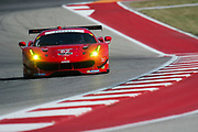 May 4-6, 2017: IMSA Sportscar Showdown at Circuit of the Americas. 62 Risi Competizione, Ferrari 488 GTE, Toni Vilander, Giancarlo Fisichella
