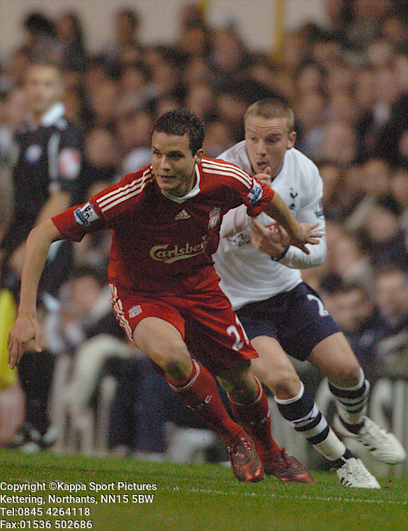 PHILIPP DEGEN, LIVERPOOL, Tottenham Hotspur - Liverpool, Carling Cup White Hart Lane Wednesday 12th November 2008, 12/11/08
