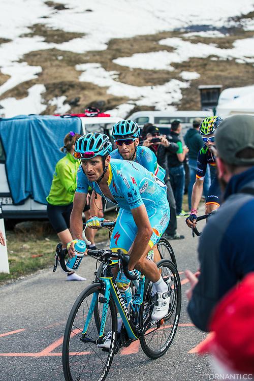 14th stage (Alpago - Corvara, 210km) of the 99th Giro D'Italia