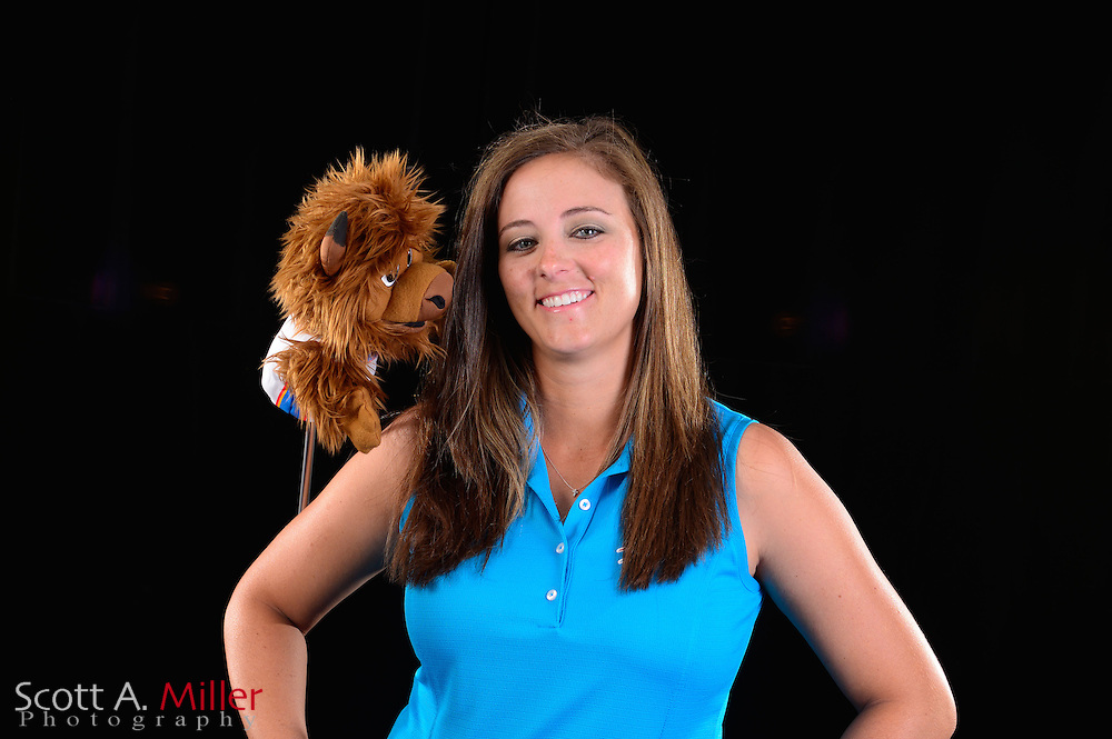 Kendall Dye during a portrait session prior to the Symetra Tour's Florida's Natural Charity Classic at the Lake Region Yacht and Country Club on Mar 20, 2013  in Winter Haven, Florida. ..©2013 Scott A. Miller