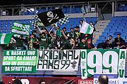 DESCRIZIONE : Pesaro Lega A 2011-12 Scavolini Siviglia Pesaro Sidigas Avellino<br /> GIOCATORE : tifosi<br /> CATEGORIA : tifosi curva<br /> SQUADRA : Sidigas Avellino<br /> EVENTO : Campionato Lega A 2011-2012<br /> GARA : Scavolini Siviglia Pesaro Sidigas Avellino<br /> DATA : 27/11/2011<br /> SPORT : Pallacanestro<br /> AUTORE : Agenzia Ciamillo-Castoria/C.De Massis<br /> Galleria : Lega Basket A 2011-2012<br /> Fotonotizia : Pesaro Lega A 2011-12 Scavolini Siviglia Pesaro Sidigas Avellino<br /> Predefinita :