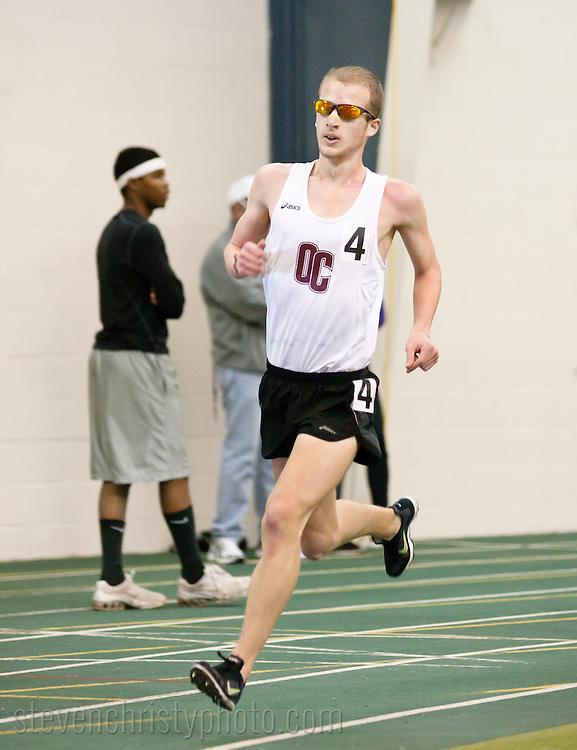 February 5, 2011: The Oklahoma Christian University Eagles host the Indoor Invitational at the Mosier Indoor Facility on the campus of the University of Oklahoma.