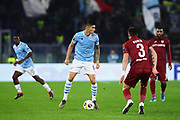 Joaquin Correa of Lazio in action during the UEFA Europa League, Group E football match between SS Lazio and CFR Cluj on November 28, 2019 at Stadio Olimpico in Rome, Italy - Photo Federico Proietti / ProSportsImages / DPPI