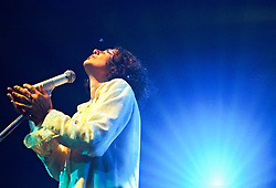 Sao Paulo, SP,Brasil. 05/setembro/1997.Show da Simone./Simone concert.Foto © Marcos Issa/Argosfoto