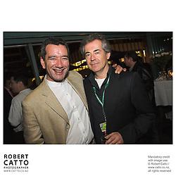 Tainui Stephens;Tim White at the Toronto International Film Festival 2006 at the Shotover Bar, Yorkville, Toronto, Ontario, Canada.
