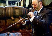 Sampling a 20 year old, Glenfiddich Distillery, Scotland
