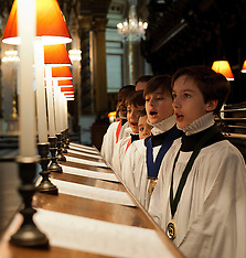 DEC 09 2013 St. Pauls Cathedral Choristers