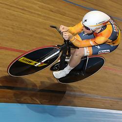 28-12-2017: Wielrennen: NK Baan: Alkmaar <br /> Amy Pieters pakt de titel op de achtervolging bij de vrouwen