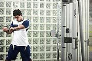 Belo Horizonte_MG, Brasil...Academia de Musculacao do Minas Tenis Clube em Belo Horizonte, Minas Gerais...Gym at Minas Tenis Clube in Belo Horizonte, Minas Gerais..  .Foto: BRUNO MAGALHAES / NITRO